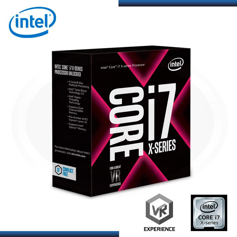 PROCESADOR INTEL CORE I7-7740X 4.30GHZ/8MB LGA2066