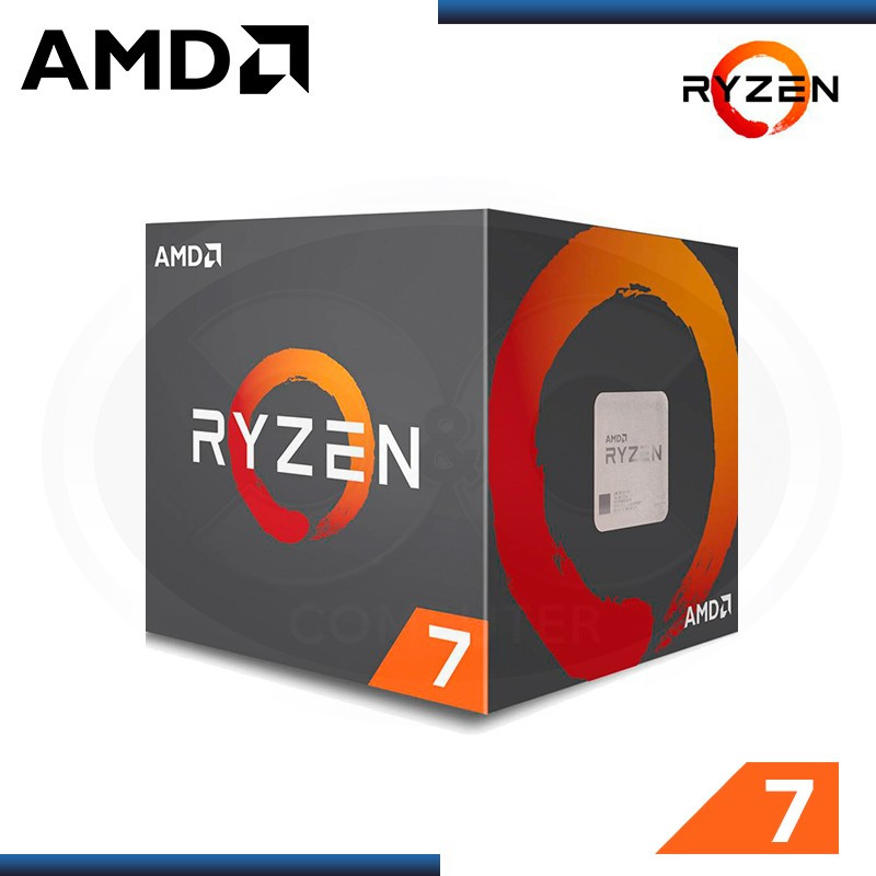 PROCESADOR AMD RYZEN 7 1700 3.70GHZ/16MB 8 CORE - AM4
