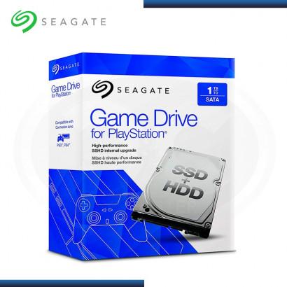 DISCO DURO SEAGATE GAME 1TB (8 GB Flash) HIBRIDO PARA PLAYSTATION (PN:STBD1000101)