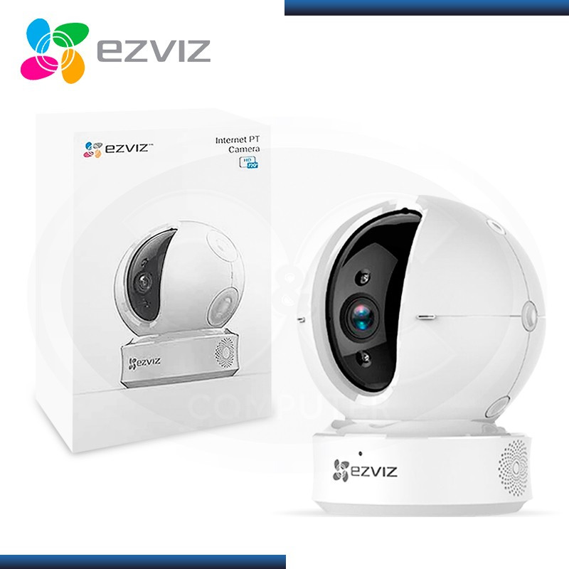 CAMARA VIGILANCIA EZVIZ C6C WHITE HD 720P IP WIRELESS (PN:CS-CV246-A0-3B1WFR)