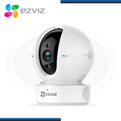 CAMARA INALAMBRICA PT IP C6C EZVIZ  WHITE PAN TILT INDOOR HD 720P  SKU: CS-CV246 (A0-3B1WFR)