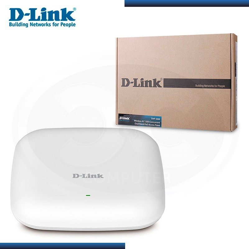 ACCESS POINT D-LINK DAP-2660 AC1200 DUAL BAND POE