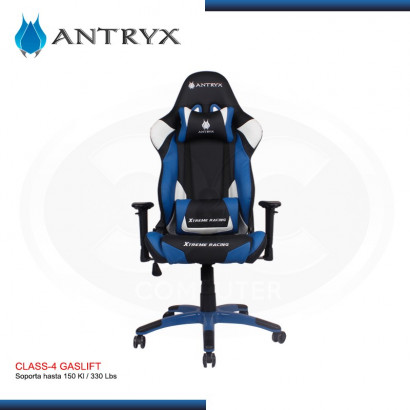 SILLA GAMER ANTRY XTREME RACING DAYTONA BLUE (PN:AXR-5100-2B)