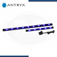 CINTAS DE ILUMINACION LED MAGNETIZADO, KIT 04 PIEZAS,5V BLUE LED