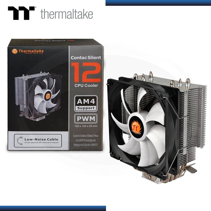 COOLER CPU THERMALTAKE CONTACT SILENT 12 INTEL/AMD