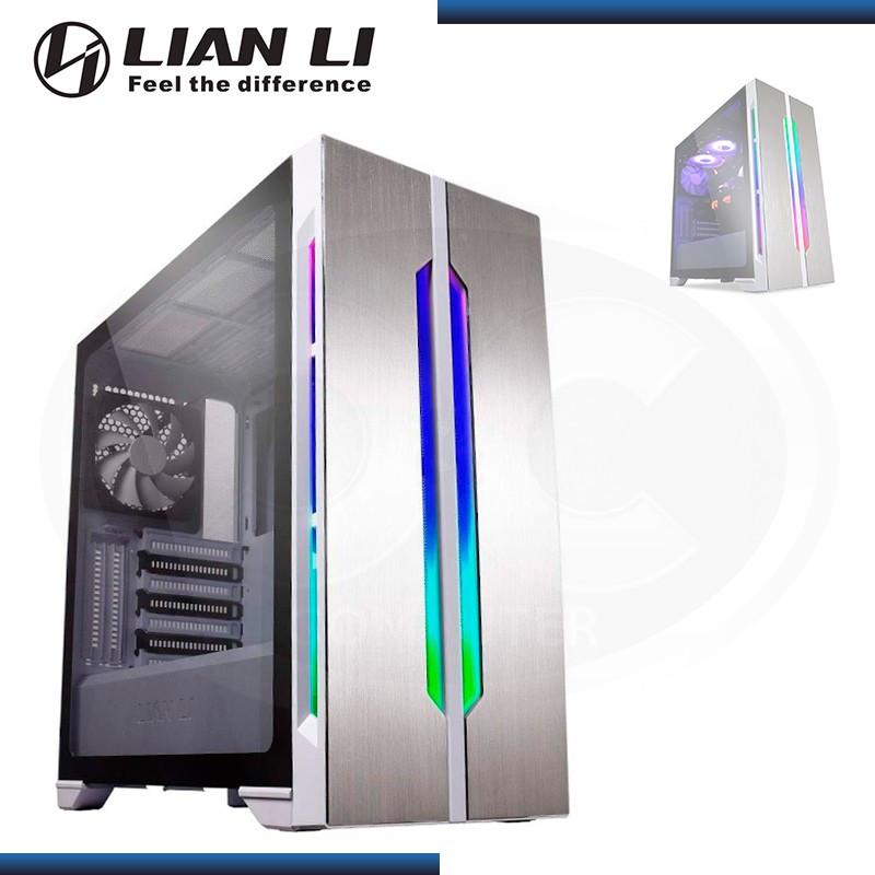 CASE LIAN LI LANCOOL ONE DIGITAL WHITE ARGB SIN FUENTE VIDRIO TEMPLADO USB 3.1 /USB 3.0 (PN:G99.LANOME-D.W0)