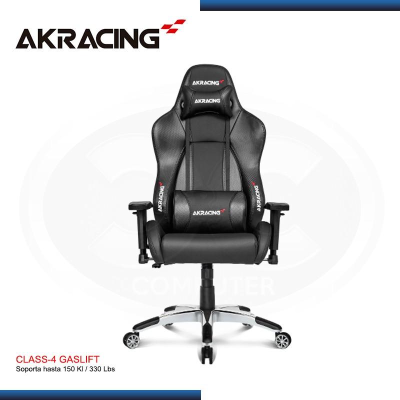 SILLA AKRACING CARBON BLACK V2 PREMIUM GAMING (PN:AK-7002-CB)
