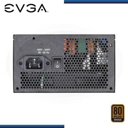 FUENTE DE PODER EVGA 600W BQ 80 PLUS BRONZE SEMI-MODULAR (N/P: 110-BQ-0600-K1 )