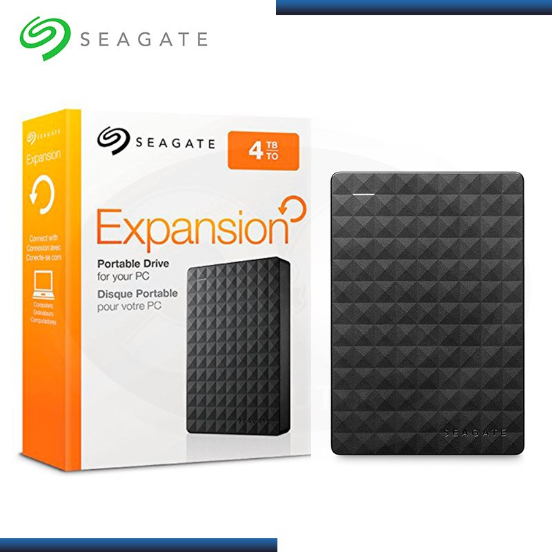 "DISCO DURO 4TB EXTERNO SEAGATE EXPANSION PORTABLE 2.5"" USB 3.0 (PN:STEA4000400)"