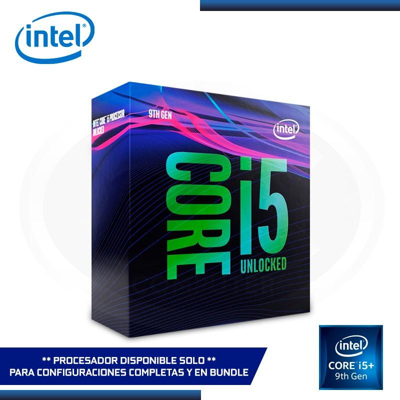 PROCESADOR INTEL CORE I5- 9600KF 3.70 GHZ/9MB LGA1151 (PN:BX80684I59600K)