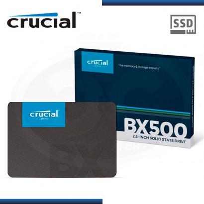 "DISCO DURO SOLIDO CRUCIAL BX500 240GB 2.5"" SATA 3  CT240BX500SSD1"