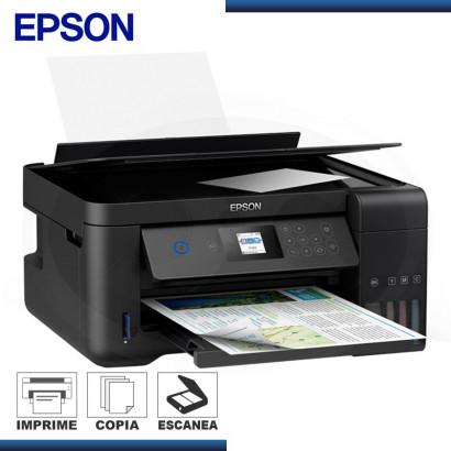 IMPRESORA MULTIFUNCIONAL EPSON L4160 IMPRESORA / ESCANER / COPIA / INALAMBRICA C/ SISTEMA CONTINUO (PN: C11CG23303)