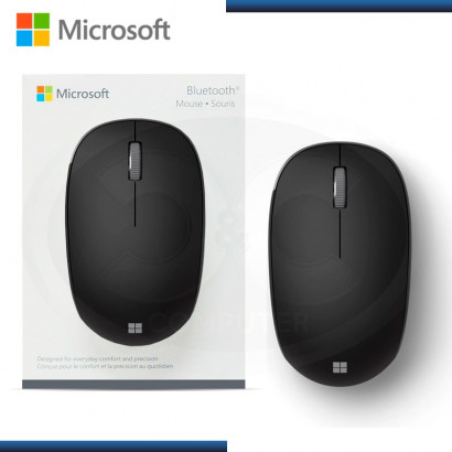 MOUSE MICROSOFT SOURIS NEGRO | BLUETOOTH | 1000 DPI (PN: RJN-00001 )