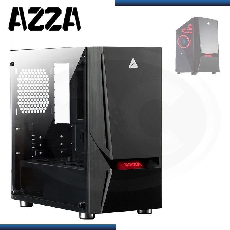 CASE AZZA LUMINOUS 110 SIN FUENTE VIDRIO TEMPLADO USB 3.0/USB 2.0