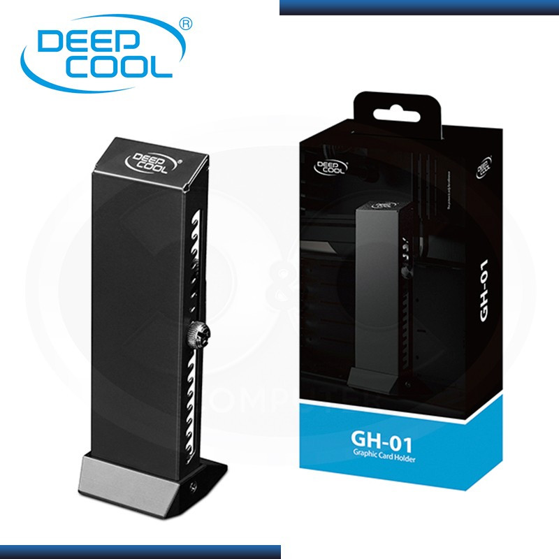 BASE PARA GPU DEEPCOOL EN VERTICAL BLACK (PN:DP-GCH2-GH01)