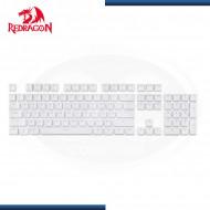 TECLAS (104) REDRAGON MECANICO WHITE (PN: A101)