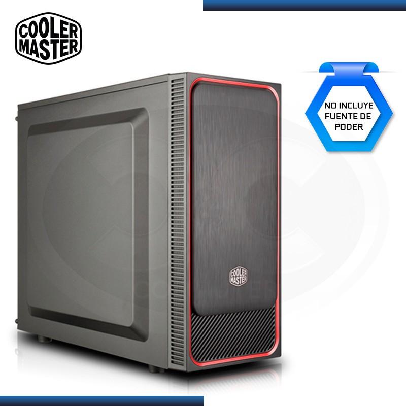CASE COOLER MASTER MASTERBOX E500L RED SIN FUENTE USB 3.0 (PN:MCB-E500L-KN5N-S01)