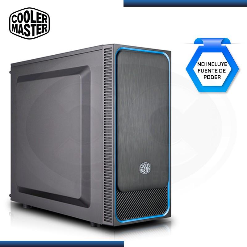 CASE COOLER MASTER MASTERBOX E500L BLUE SIN FUENTE USB 3.0 (PN:MCB-E500L-KN5N-S00)