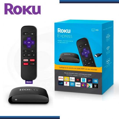 ROKU EXPRESS STREAMING STICK 1080p REPRODUCTOR MULTIMEDIA (SKU:3930RW)