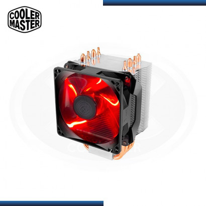 COOLER PROCESADOR COOLER MASTER HYPER H410R LEDRED (PN: RR410-20FK-R1 )