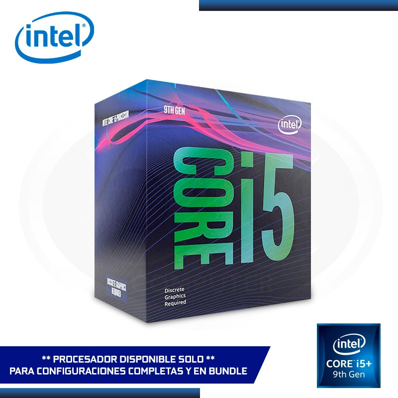 PROCESADOR INTEL CORE I5 9400 2.9 GHZ 9MB LGA 1151