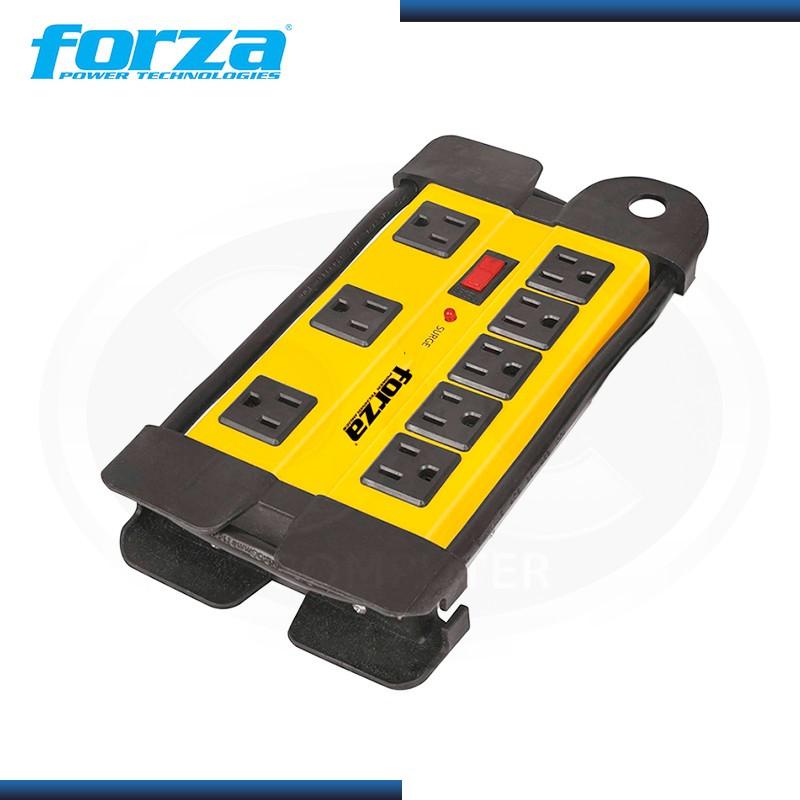FORZA FSP-808 SUPRESOR DE PICO METAL 8 TOMAS