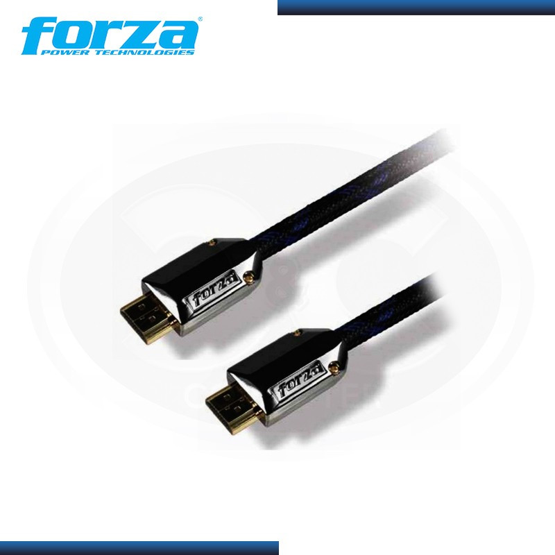 CABLE HDMI FORZA FULL HIGH DEFINITION 6FT/ 1.8 MTS BLACK (PN: FAV-H006RS )