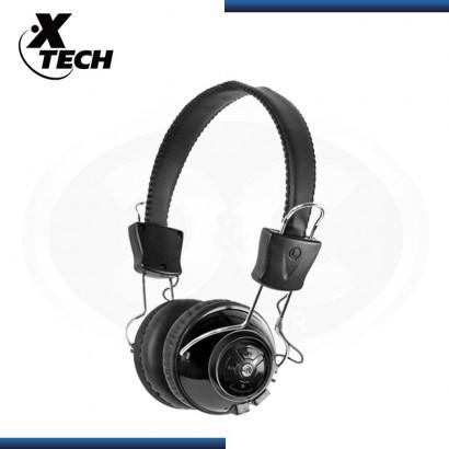 AUDIFONO C/ MICROFONO BLUETOOTH  XTECH XTH610, BLACK