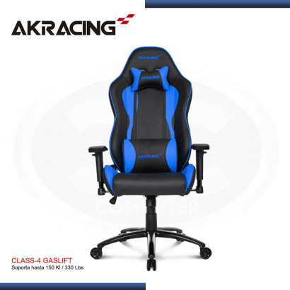 SILLAS GAMER NITRO SERIES- BLUE (PN: AK-NITRO-BL)