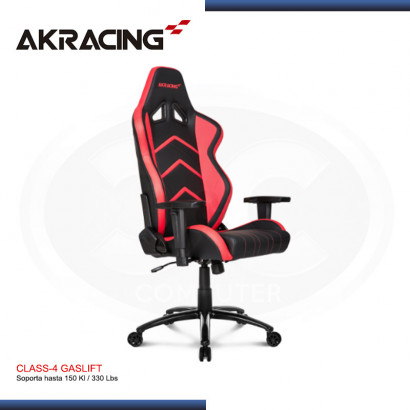 SILLA GAMER AK-RACING PLAYER SERIES ROJO (PN: AK-K6014-BR)