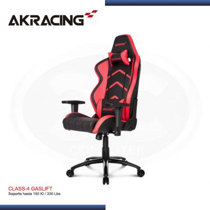 SILLA GAMER AK-RACING PLAYER SERIES ROJO (PN: AK-K6014-BR)