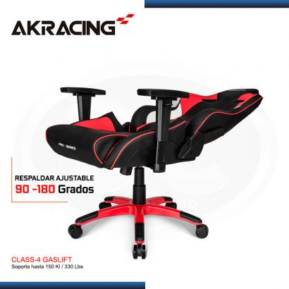 SILLA GAMER AK-RACING PROX SERIES ROJO (PN: AK-PROX-RD)
