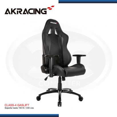 SILLA GAMER AK-RACING NITRO SERIES- BLACK (PN: AK-NITRO-BK )
