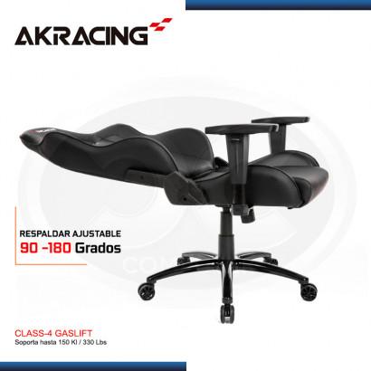 SILLA GAMER AK-RACING NITRO SERIES- BLACK (PN: AK-NITRO-BK )