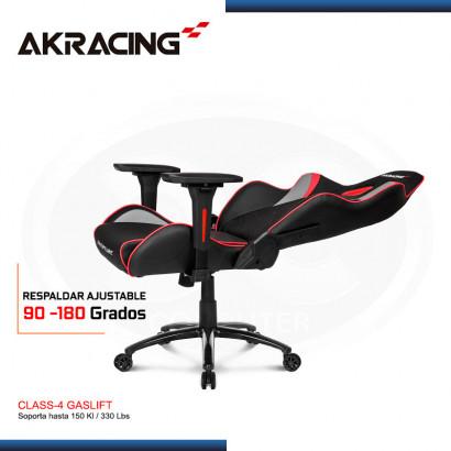 SILLA GAMER AK-RACING OVERTURE SERIES ROJO (PN: AK-OVERTURE-RD )