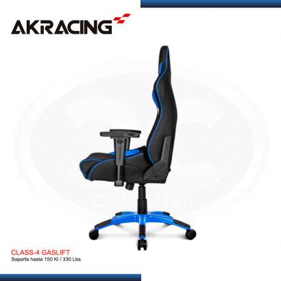 SILLA GAMING AK-RACING PROX SERIES AZUL (N/P AK-PROX-BL )