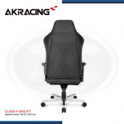 SILLA  OFFICE SERIES AK-RACING ONYX - CUERO  (N/P AK-ONYX-FL )