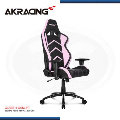 SILLA GAMER AK-RACING PLAYER SERIES ROSADA (PN: AK-K6014-PK)