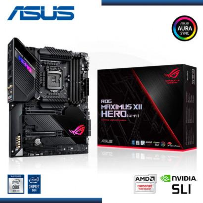 MB ASUS ROG MAXIMUS XII HERO (WI-FI) C/ SND-RED -HDMI USB 2.0.(6) ,USB 3.2 (4) DDR4 LGA 1200  M.2  ATX  (PN:90MB12R0-MOAAYO)
