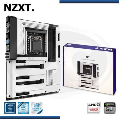 MB NZXT N7-Z37XT DDR4 LGA 1151V2 INTEL Z370 ATX / WHITE (PN: Z37XT-W1 )