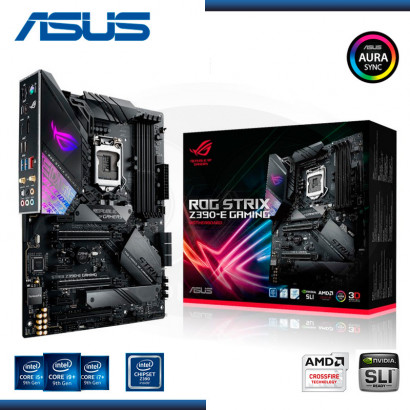 MB ASUS ROG STRIX Z390- E GAMING C/VIDEO SONIDO RED, DDR4 USB 3.1, (4) LGA 1151 (PN: 90MB0YF0-MOAAYO )