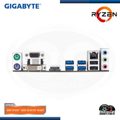 MB GIGABYTE GA-A320M-S2H C/ VIDEO-SONIDO- RED- USB 3.1, DDR4, AM4, MICRO ATX