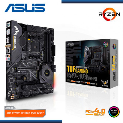 MB ASUS TUF GAMING X570 PLUS  C/ VIDEO-SONIDO RED , M.2 USB 3.2 ATX (PN: 90MB1180-M0AAY0 )