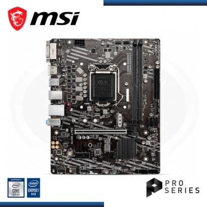 MB MSI  H410M-A PRO VIDEO | SONIDO | LAN | LGA 1200  HDMI | USB 2.0 | USB 3.2 I M.2 (PN:911-7C89-008 )