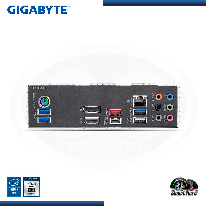 MB GIGABYTE B460M GAMING HD DDR4 LGA 1200