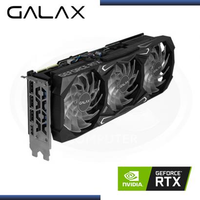 TARJETA PCI-E GALAX GEFORCE RTX 3090 SG 24GB GDDR6X -384 BIT/HDMI/DP (PN:39NSM5MD1GNA)