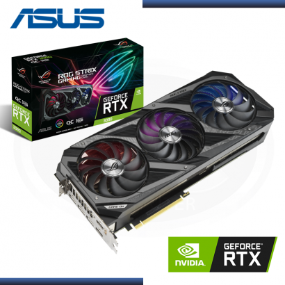 VIDEO PCI EXP. ASUS ROG STRIX RTX 3090 24G OC GAMING GDDR6X  384-BIT (PN: 90YV0F90-M0AM00 )