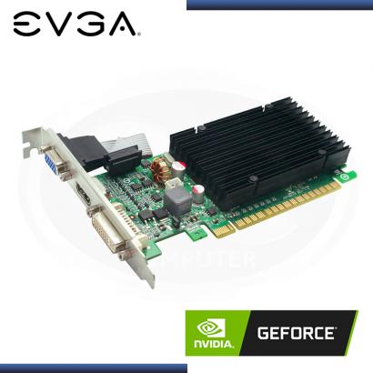 VIDEO PCI-E EVGA GEFORCE 210 1GB DDR3 DVI | VGA | HDMI | LP (PN: 01G-P3-1313-KR)