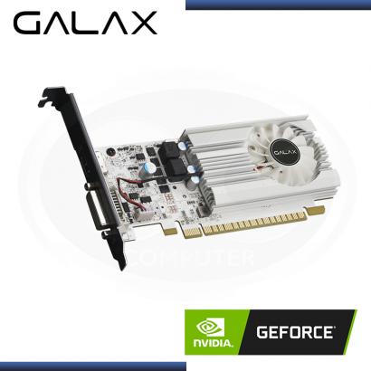 TARJETA PCI-E GALAX GEFORCE GTX 1030 EXOC WHITE  2GB GDDR5 -64 BIT HDMI/DVI-D (PN:30NPH4HVQ5EW)