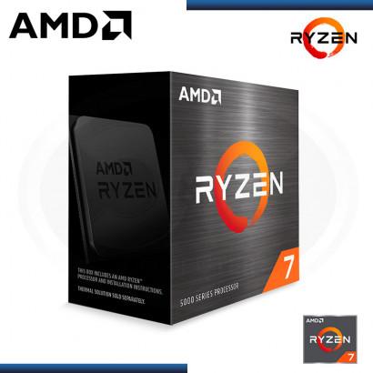 PROCESADOR AMD RYZEN 7 5800X | 3.8GHZ (4.7GHZ) | | 36MB | 8 NUCLEOS | AM4 | BOX(N/P 100-100000063WOF )